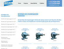 Tablet Preview of edral.com.br